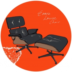 Eames Lounge Chair for Apartment Therapy