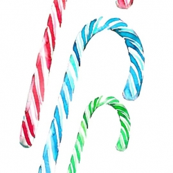 Candy Canes for Christmas for Daily Candy