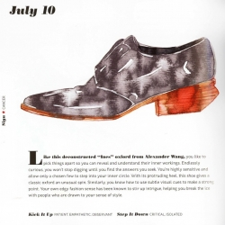 Shoestrology book for Random House