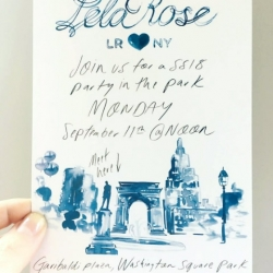 Lela Rose Invitation