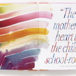 A Mother is a Story spread