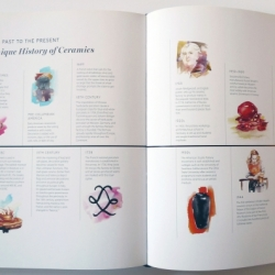 The Finer Things by Christiane Lemieux, interior spread