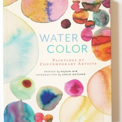 Watercolor book cover